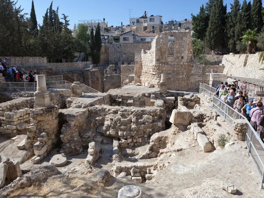 Овчая купель. Иерусалим